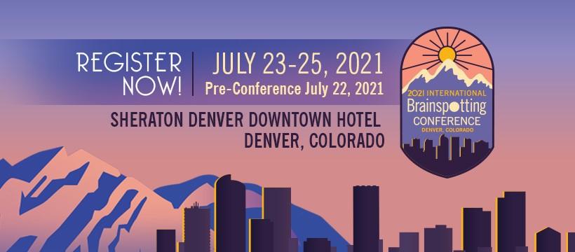 2021 International Brainspotting Conference Banner